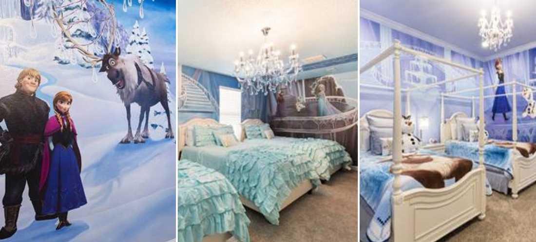 I Florida finns det flera hus med tema Frost.