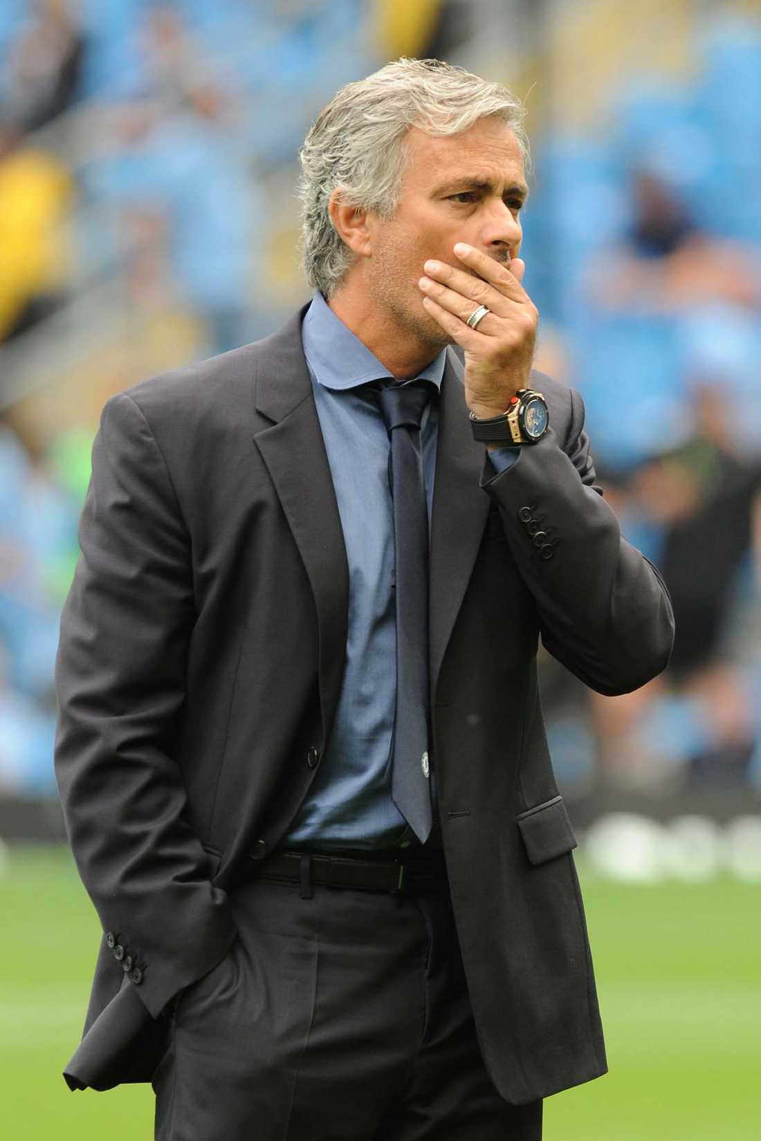 Mourinho har haft en tung höst.