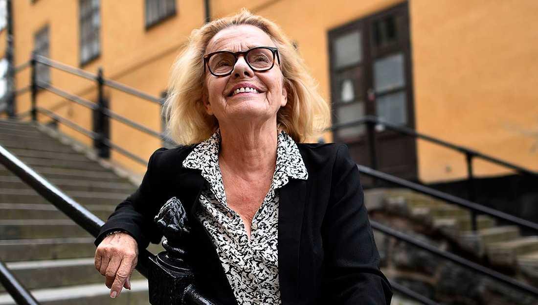 """Skådespelaren Marie Göranzon kommer med sina memoarer """"Vrålstark & skiträdd""""."""