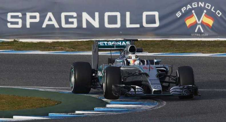 Lewis Hamilton, Mercedes.