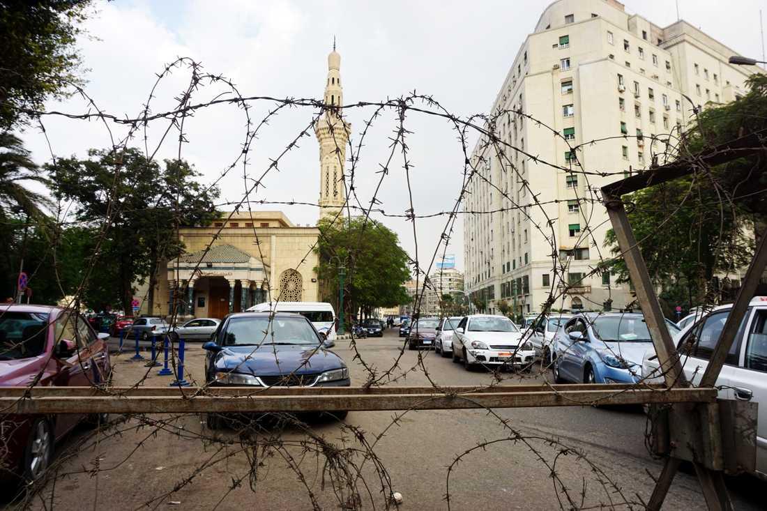 Egyptiska myndigheter granskar sociala medier, bland annat för att försöka förhindra illegala demonstrationer. Bilden är från Tahrirtorget i Kairo. Arkivbild.