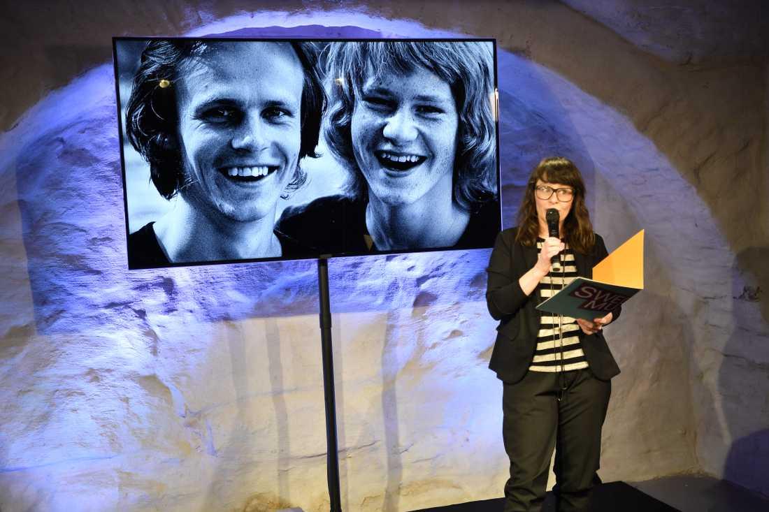 Både Kenneth och Ted gärdestad väljs in i hall of fame.