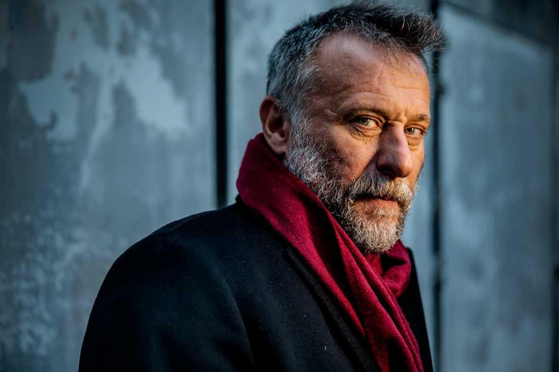 Michael Nyqvist fotograferad för Aftonbladet i december 2015.