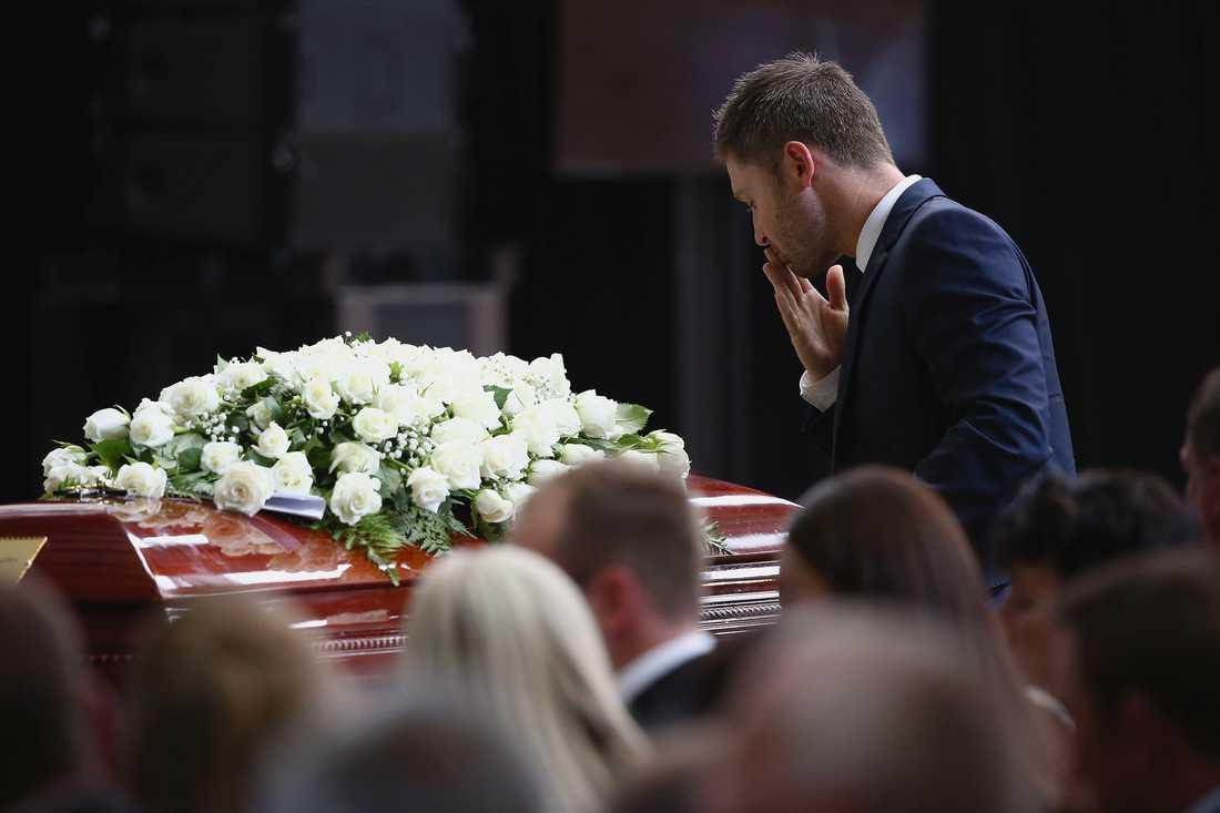 Australien begränsar hur många som får delta vid en begravning. Arkivbild.