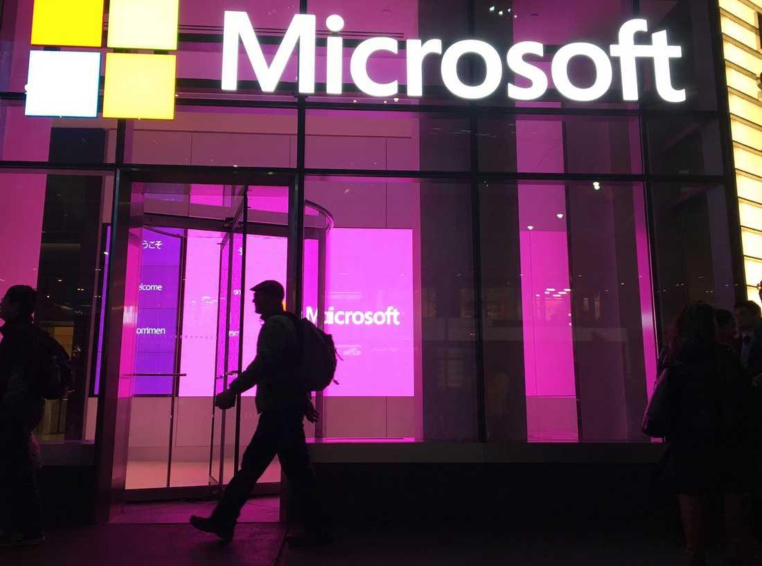 Hur säkra är uppgifterna hos Microsoft? Göteborg brottas med frågan. Arkivbild.