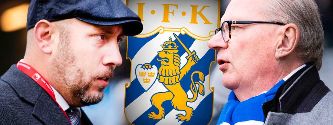 Max Markusson och Mats Engström.