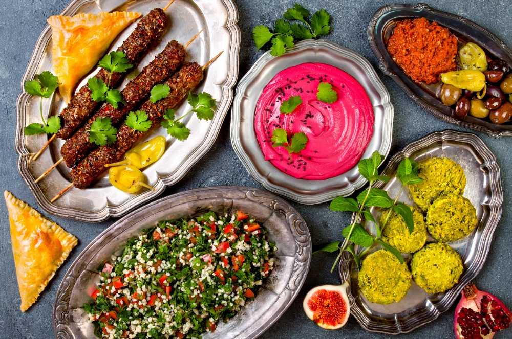 Mat från mellanöstern