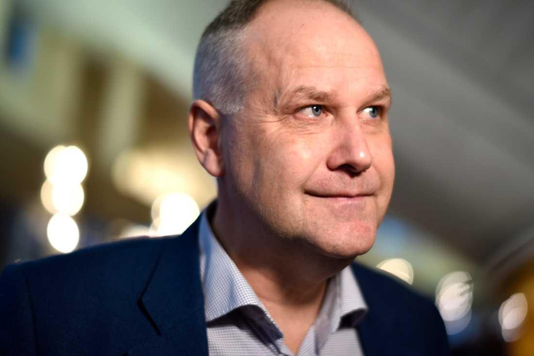 Jonas Sjöstedt, Vänsterpartiets partiledare.