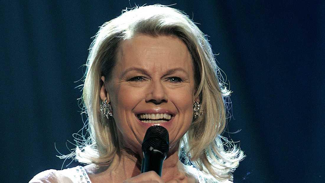 Arja Saijonmaa i Melodifestivalen 2005.