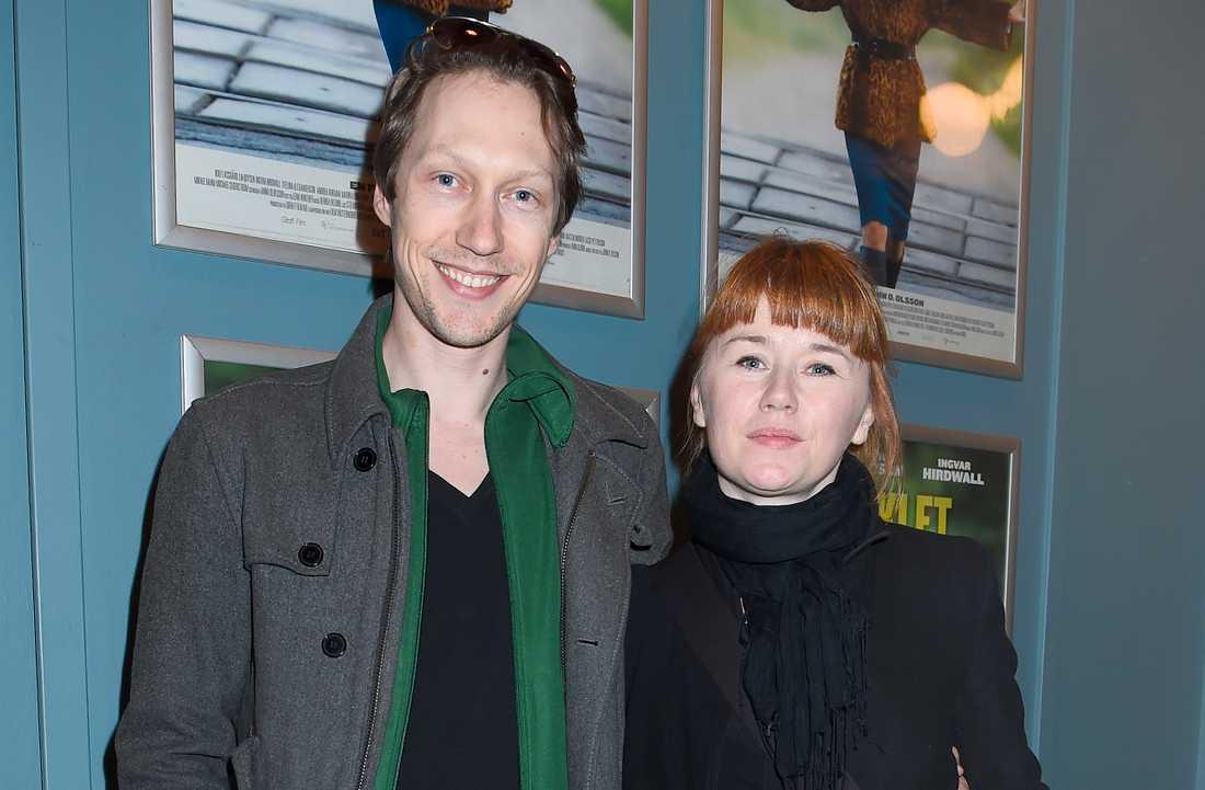 Simon J Berger och Kajsa Isakson 2015.