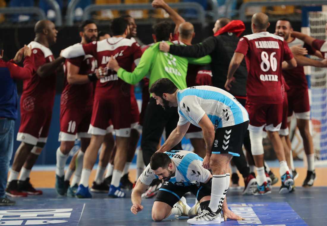 Qatars seger mot Argentina gav dem en kvartsfinalplats.
