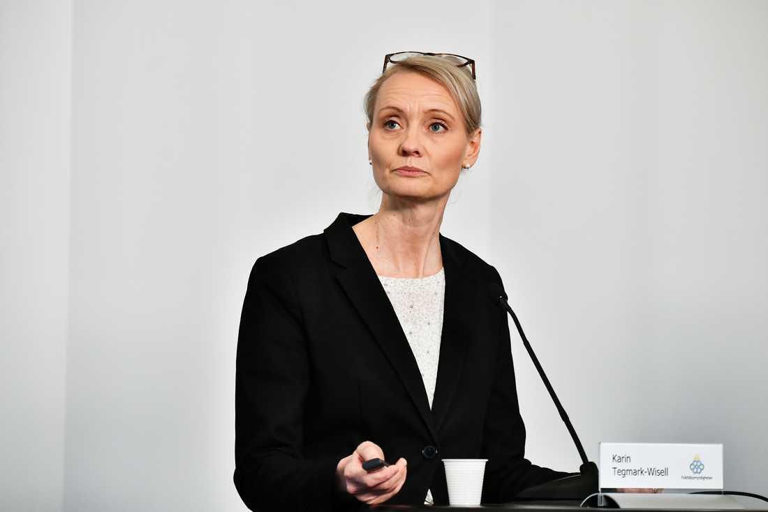 Karin Tegmark Wisell.