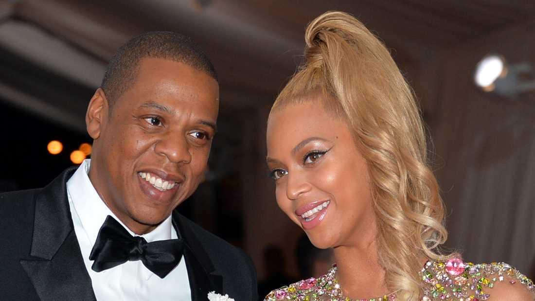 Beyoncé och Jay Z är ett par privat.