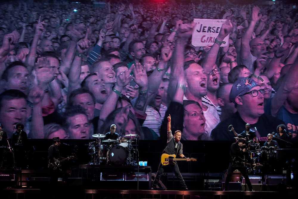 NICLAS HAMMARSTRÖM Bruce Springsteen spelar på Friends arena i Stockholm.