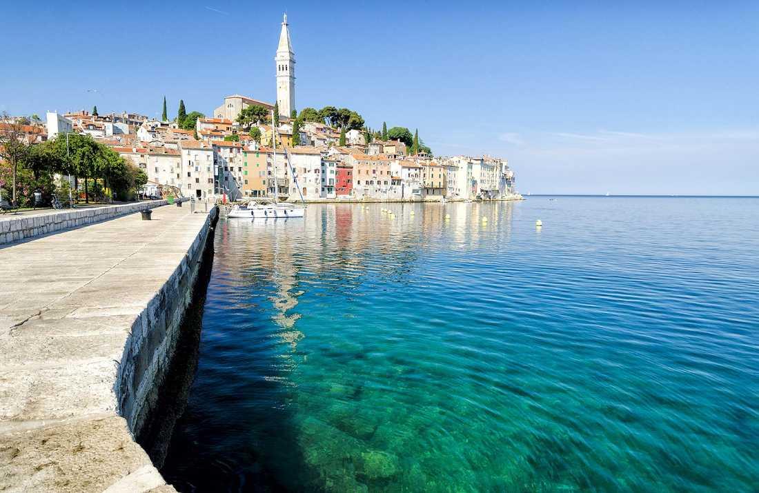 Rovinj i norra Kroatien är en av Apollos nyheter för säsongen.