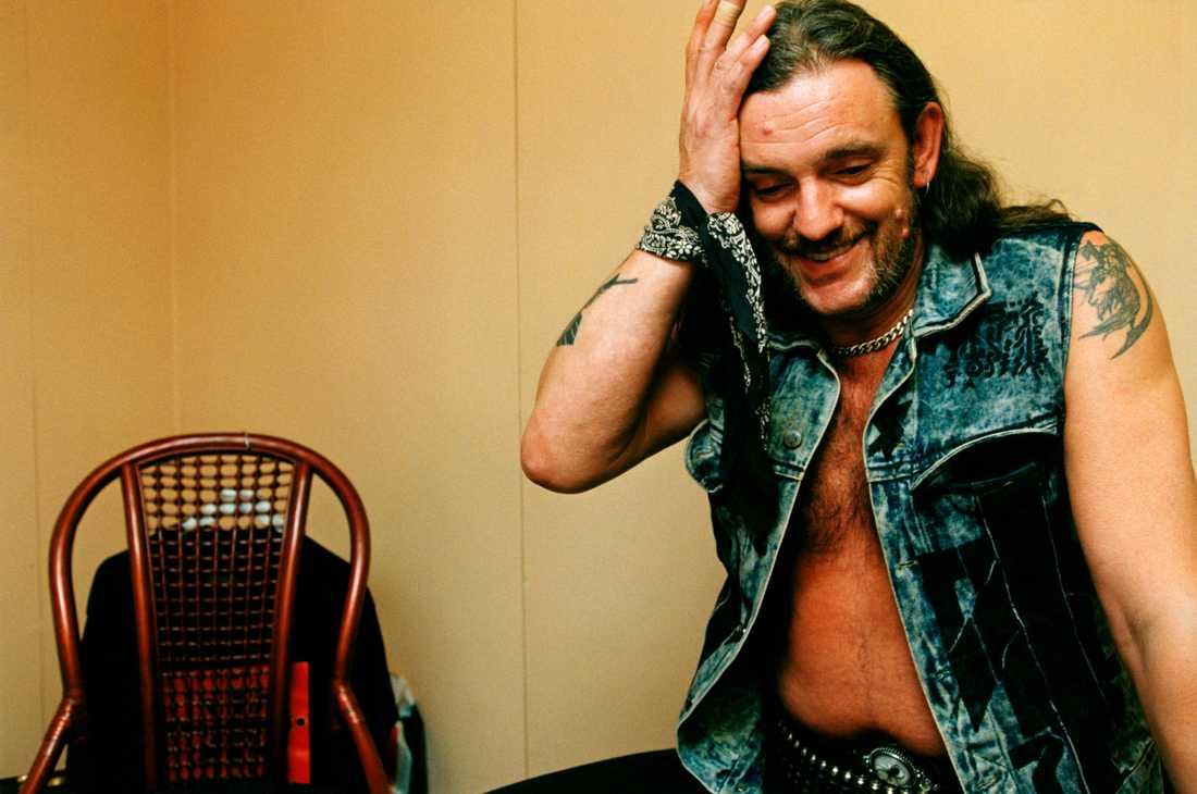 Lemmy Kilmister Hultsfredsfestivalen 1994.