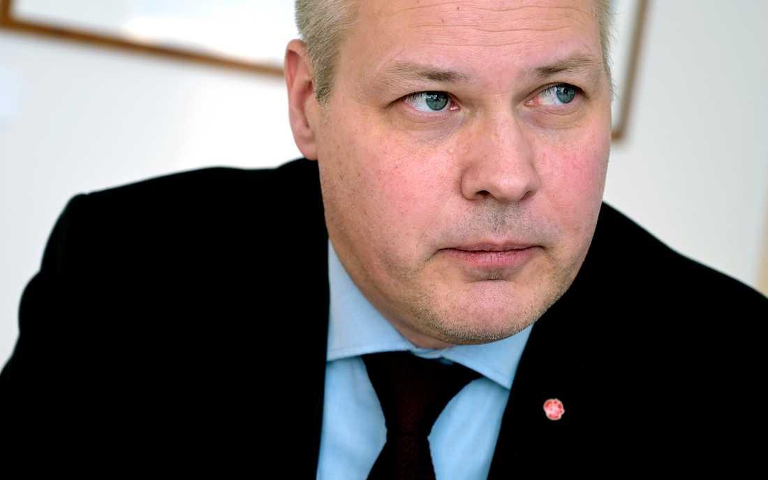 Justitie- och migrationsminister Morgan Johansson. Arkivbild.