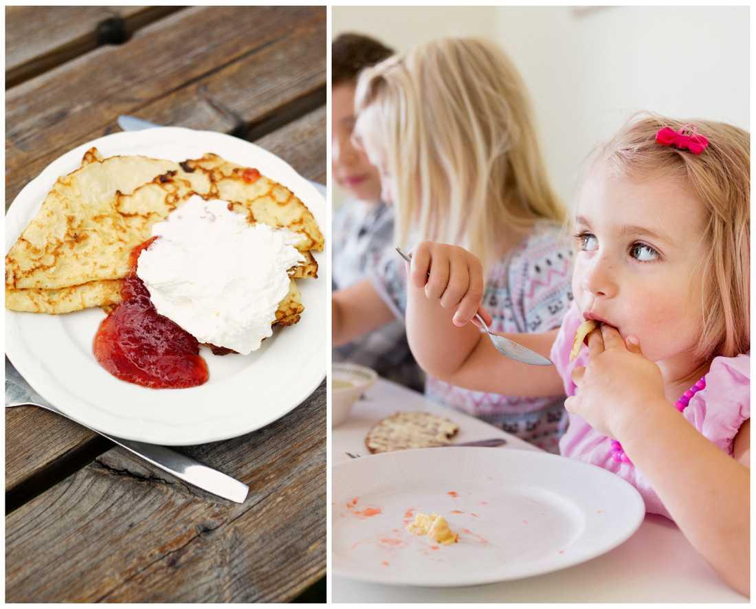 Det blir inga pannkakor på tallriken på Malmös skolor framöver. Obs, genrebild.
