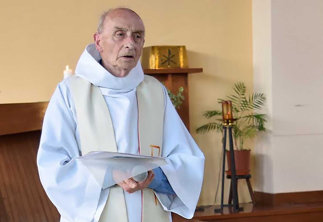 Prästen Jacques Hamel dödades under gisslandramat.