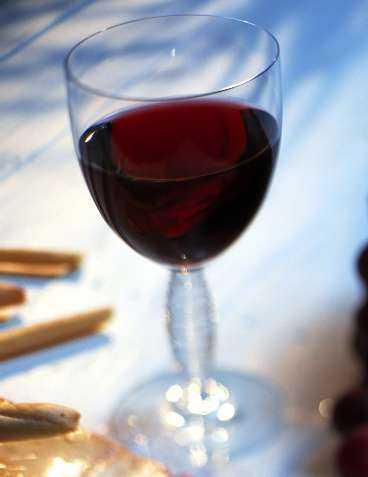 ämne i rödvin
