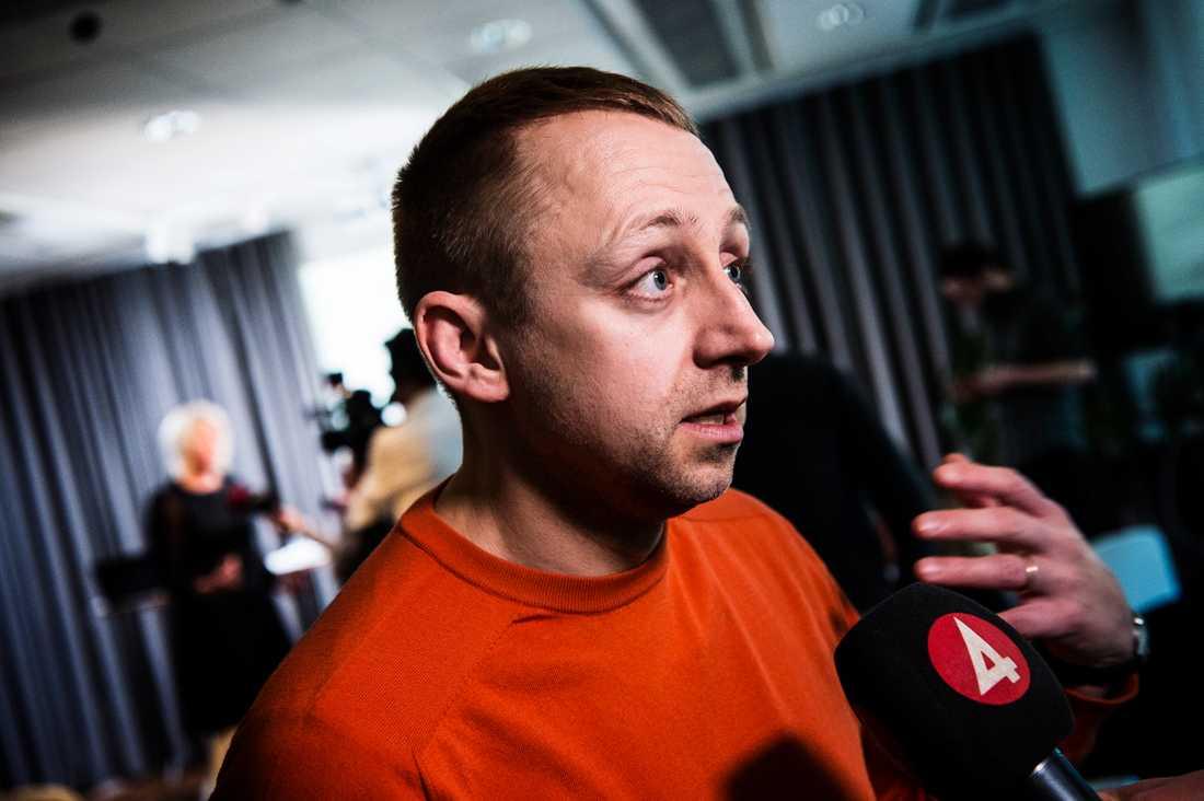 Socialdemokraternas valgeneral John Zanchi.