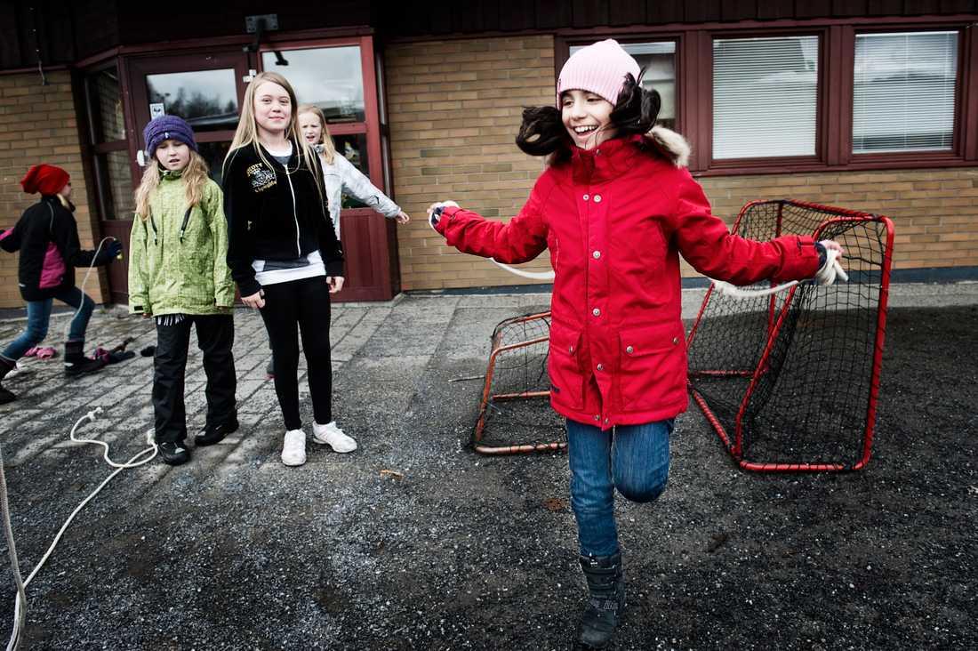 Carlshöjdsskolan i Umeå är en av landets toppskolor när det gäller resultat. Även här har en majoritet av eleverna högutbildade föräldrar.