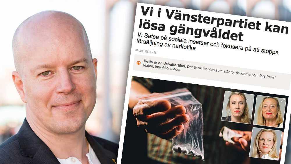 Att avkriminalisera bruket av droger minskar inte den illegala marknaden, utan kommer tvärtom skapa större anledning för gängen att vilja utöka sina områden, skriver Magnus Andersson, partiledare för Piratpartiet.