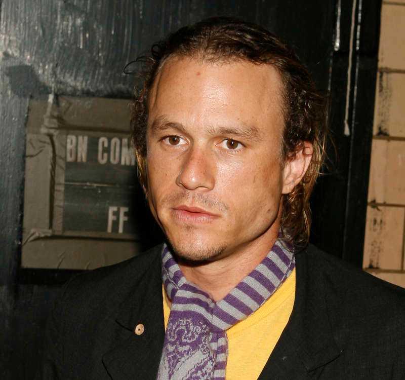 Heath Ledger blev 28 år.