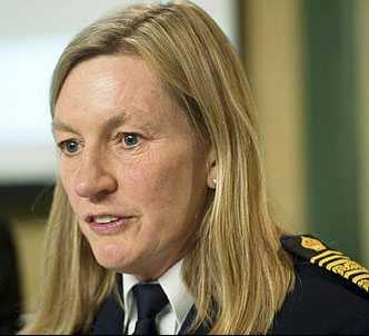 Länspolismästare Carin Götblad.