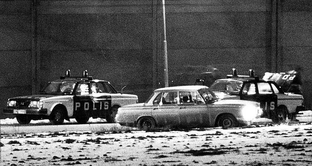 Volvo 240, en av polisens klassiska arbetshästar.