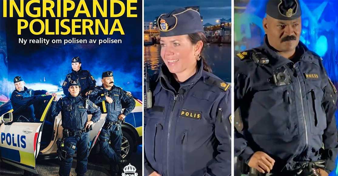 Polisens realityserie tas bort.