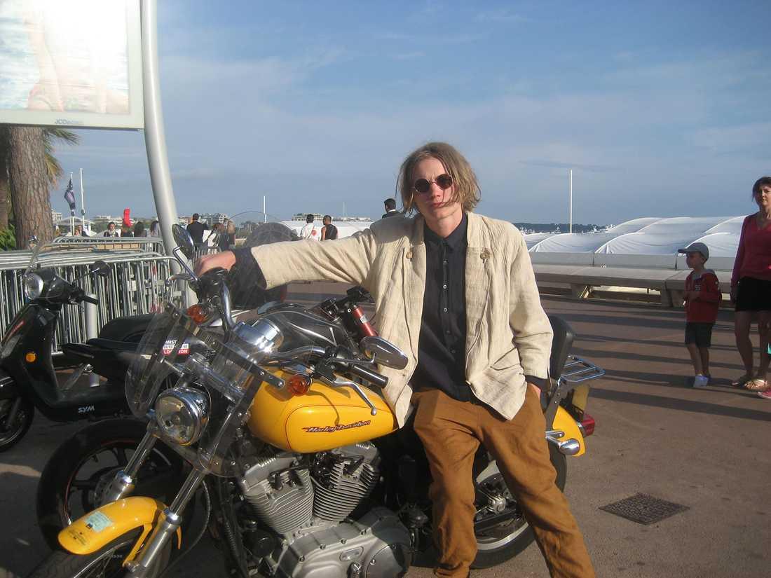 Ulrik Munther i Cannes.