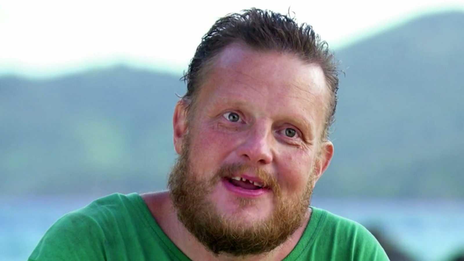 """Michael Björklund, vinnare av """"Robinson"""" 2020."""