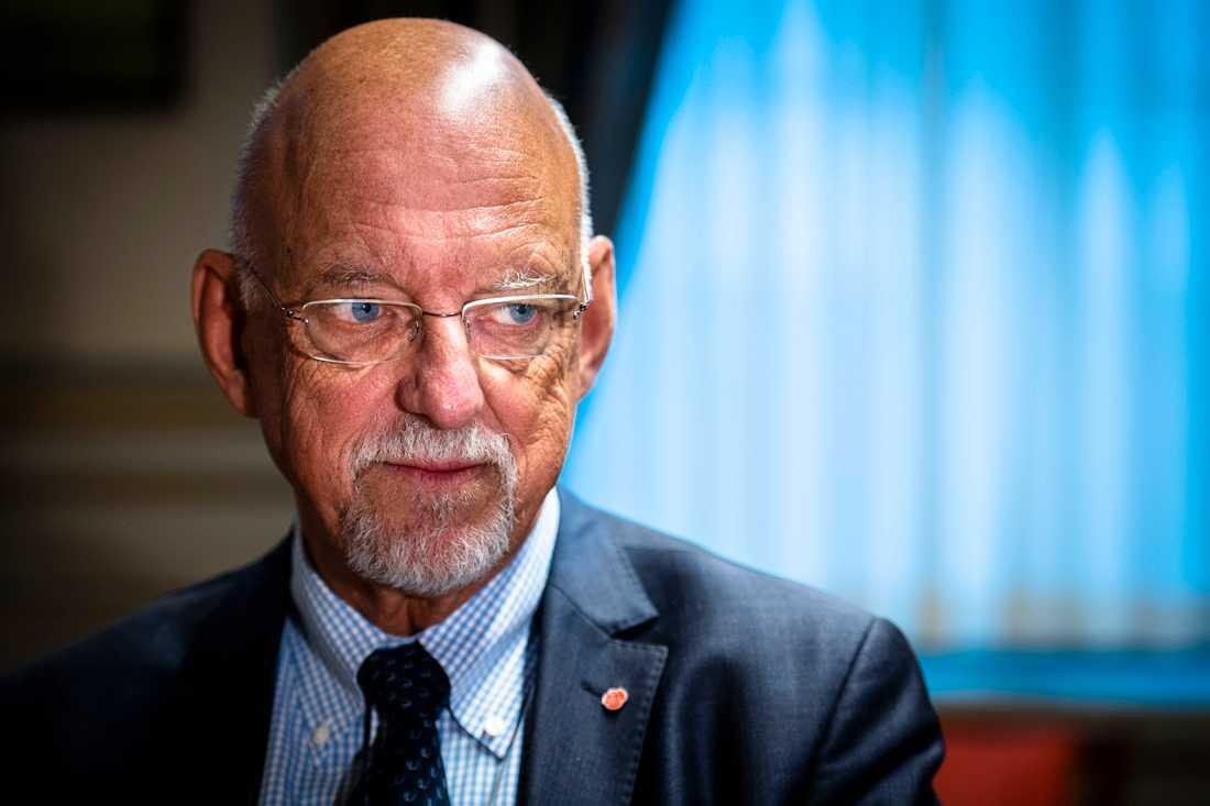 Hans Dahlgren (S), EU-minister.