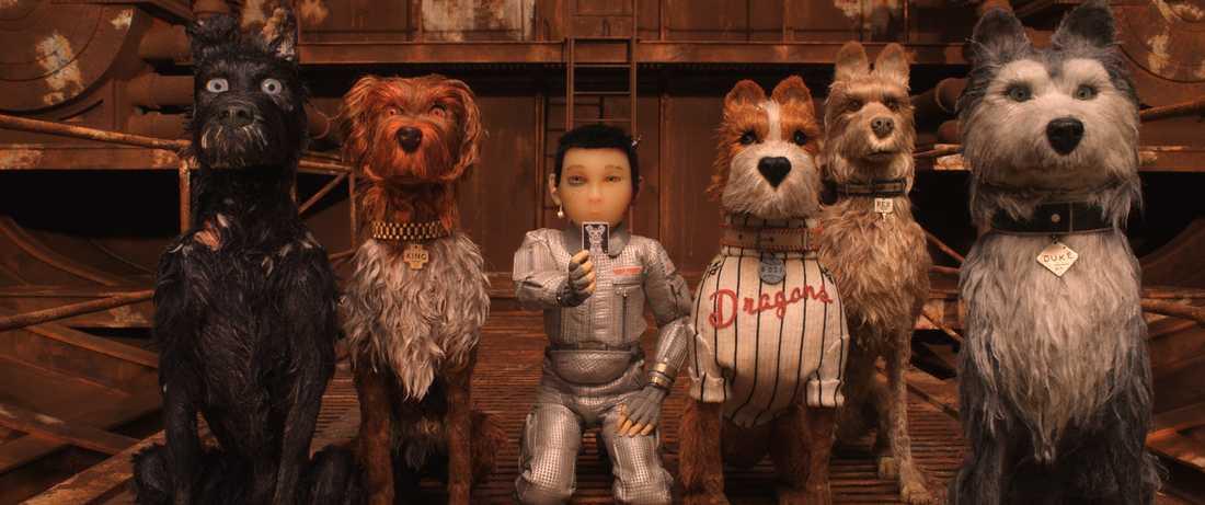 Ur filmen Isle of dogs