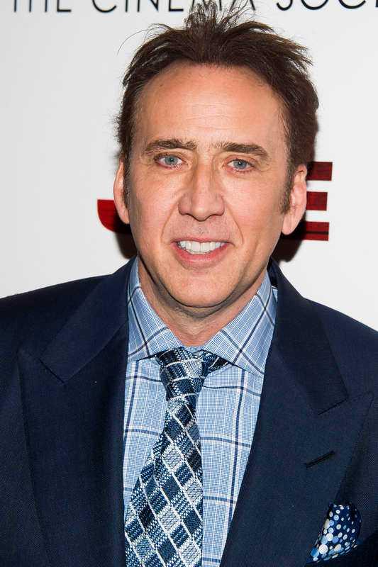 Nicolas Cage, pappa till Weston.