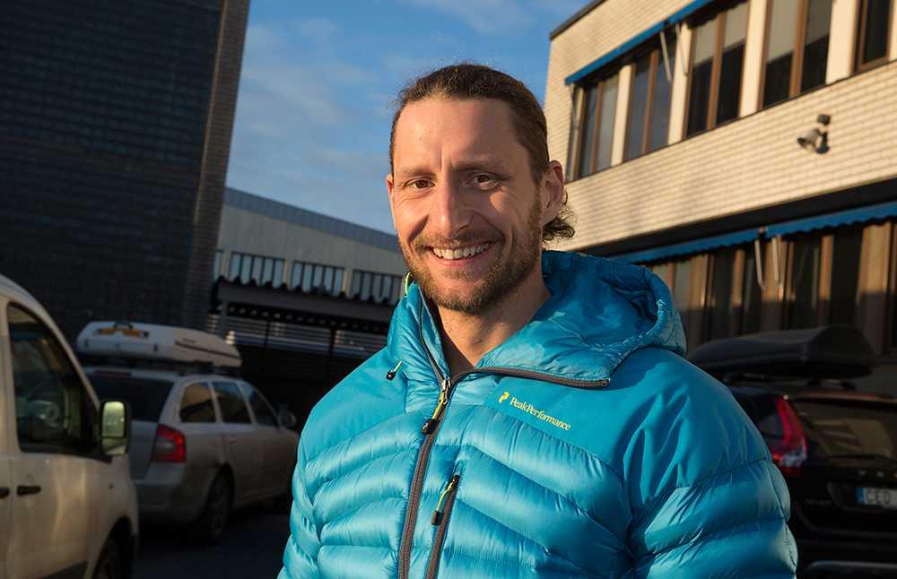 Christoffer Mäkitalo, 32, togs av en lavin men överlevde.