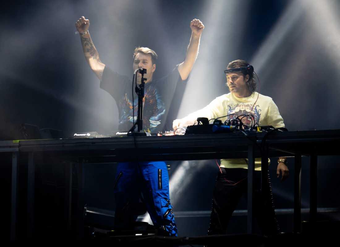 I Göteborg hintar Axwell & Ingrosso än en gång om en Swedish House Mafia-återförening.