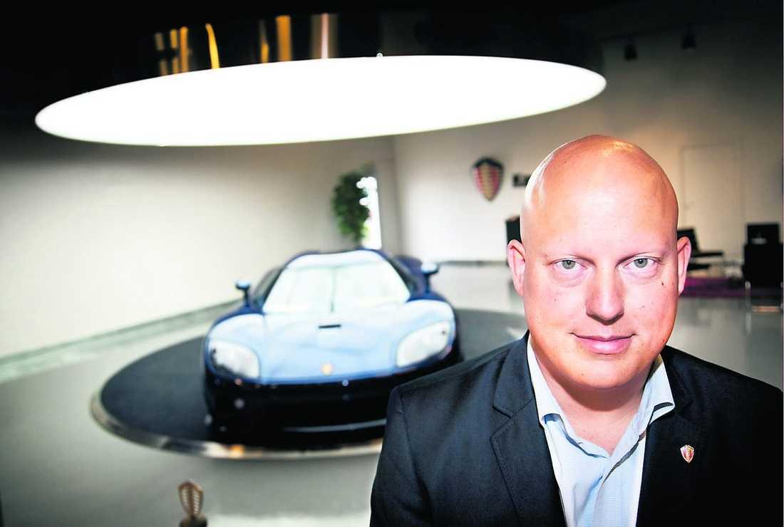 Christian von Koenigsegg.