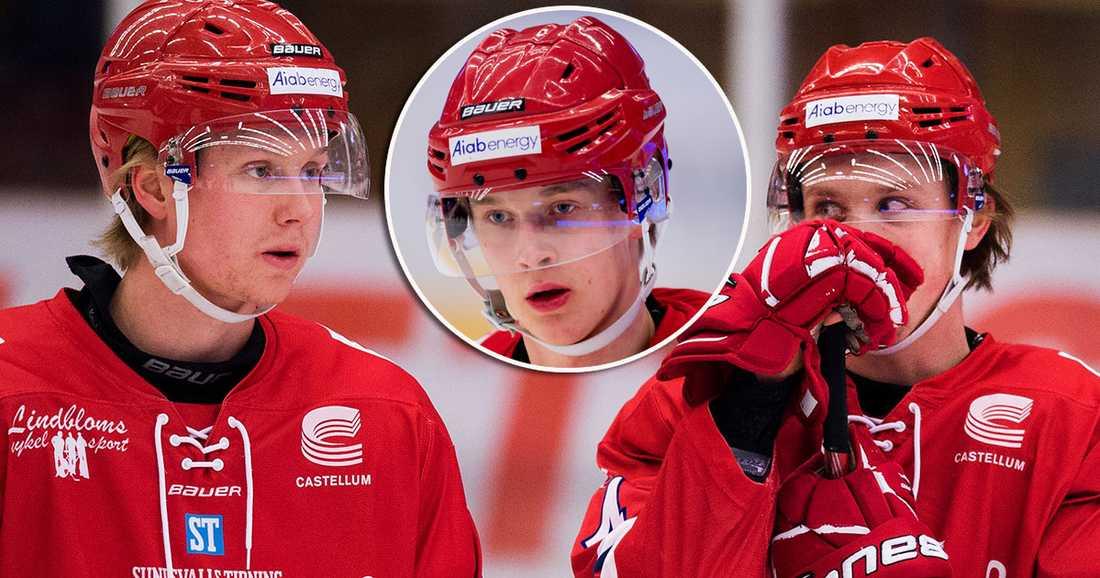 Timrå tappar Jens Lööke, Elias Pettersson och Jonathan Dahlén till junior-VM.