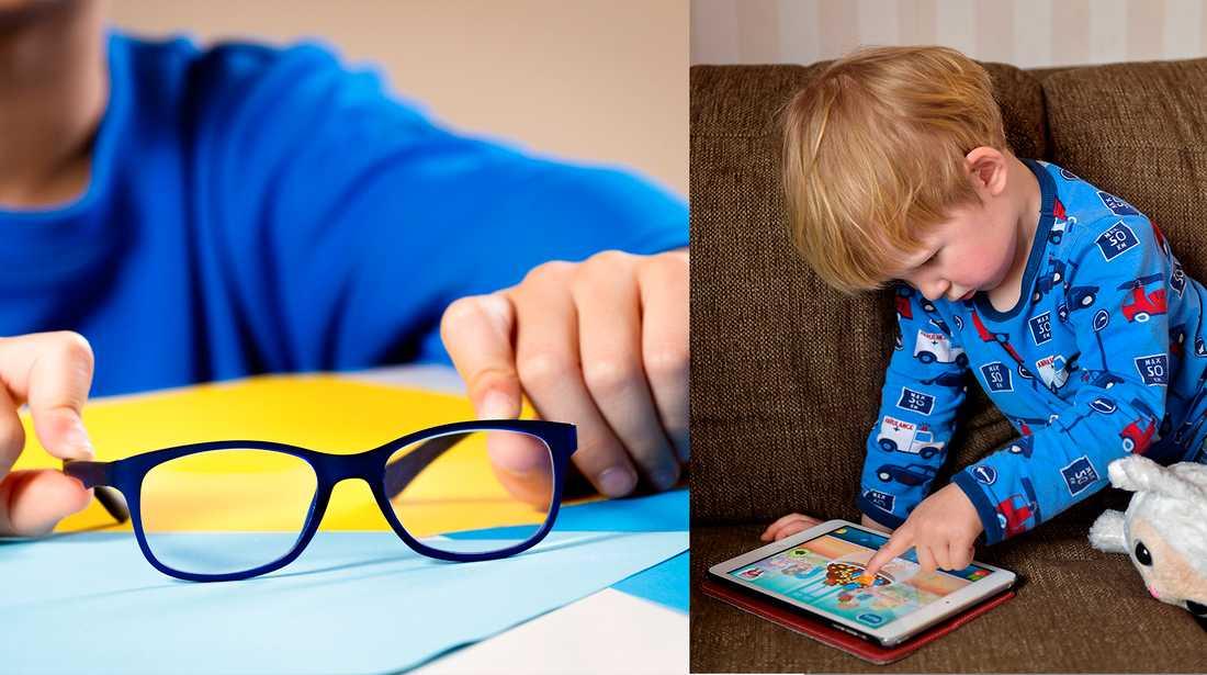 Optiker menar att mycket skärmtittande kan leda till närsynthet.