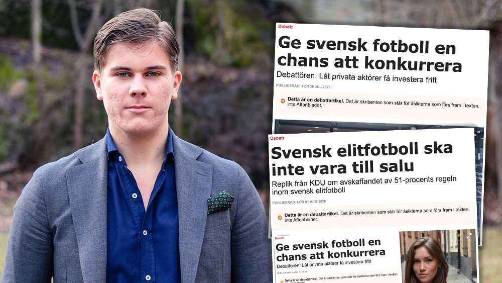 Att avskaffa 51-procentregeln är det bästa sättet för allsvenska lag att överleva under och efter coronakrisen. Med större eget kapital i klubbarna blir allsvenska lag mer hållbara och utvecklas i framtiden, skriver debattören.