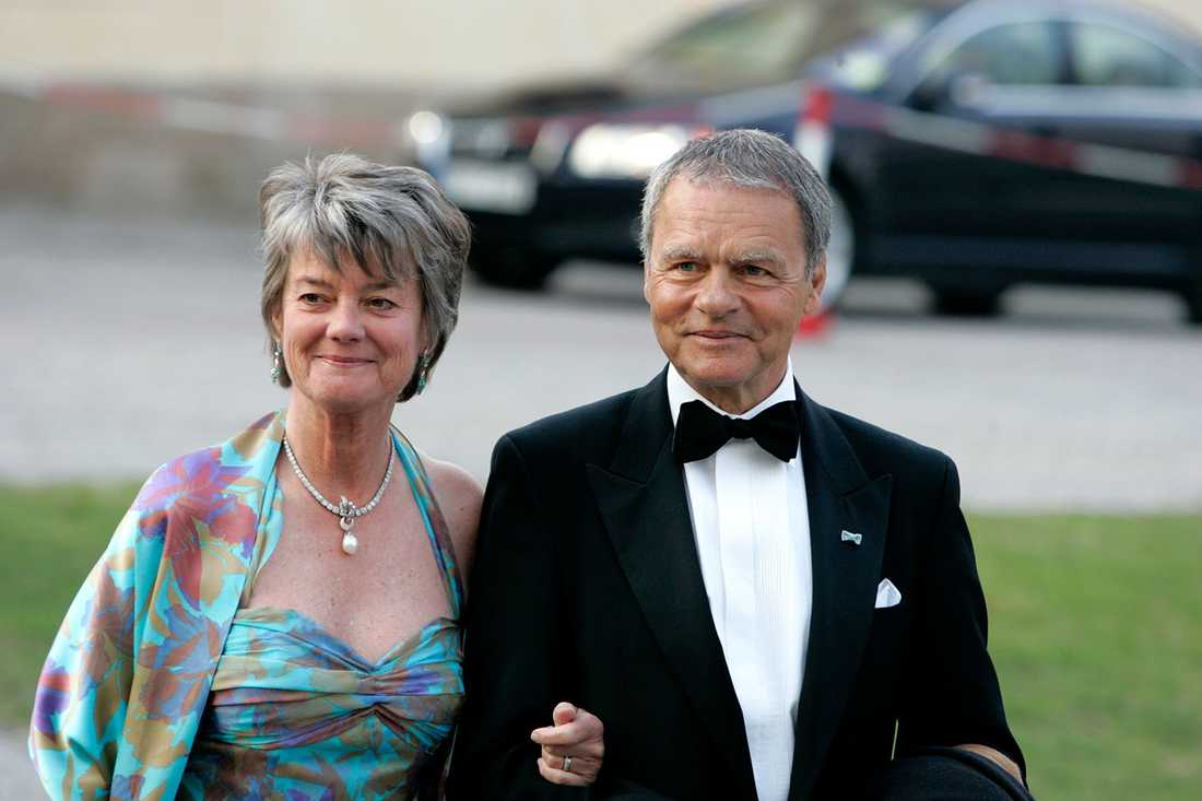 Ulf Dinkelspiel med frun Louise.
