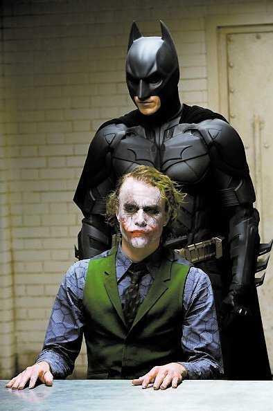 """Heath """"Jokern"""" Ledger fick en Oscar postumt för bästa manliga biroll i """"The dark knight""""."""