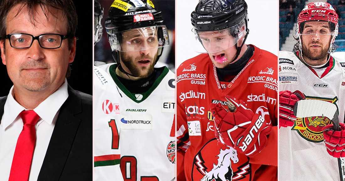Moras klubbdirektör Peter Hermodsson är orolig över klyftorna i svensk hockey