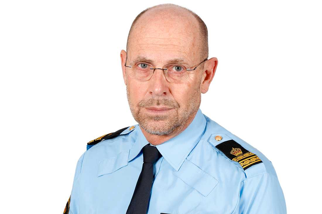 Stephan Söderholm, presstalesperson polisregion Syd.