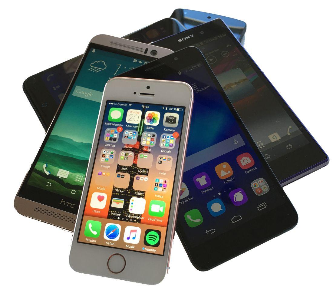MINDRE OCH BILLIGARE … men hur bra är nya Iphone SE jämfört med  konkurrenterna  Vi 58f7e876c1faa