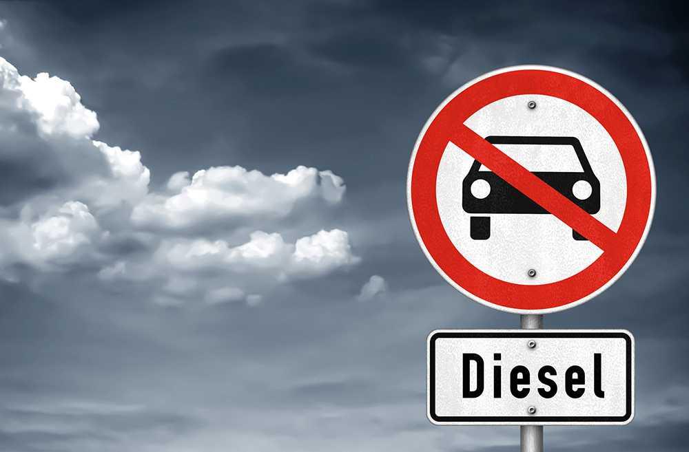 Dieselbilar är populära – men kan förbjudas i de nya miljözonerna.