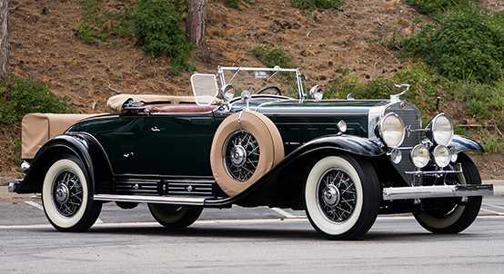 1930 Cadillac V-16 Roadster by Fleetwood – 7 milj kr.