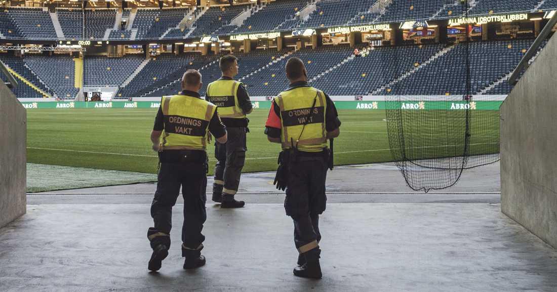 Idag spelas AIK-Hammarby på Friends arena